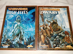 Warhammer softcover books