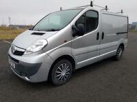 2010 Vauxhall VivaroTrafic 2.0CDTI 115ps 6sp Euro IV Sportive 2700 SWB NO VAT