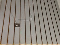 2 sided slat wall  to hold clothing/ jewellery/make-up & More!!
