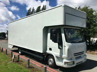 Iveco Euro Cargo 75E16 7.5T 24Ft Dropwell Removal Luton Van 1650 Cubic Feet