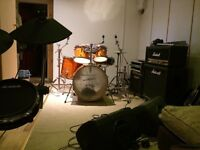 Rehearsal room in North London