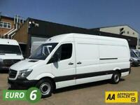 2017 17 MERCEDES-BENZ SPRINTER 2.1 314 CDI LWB HIGH ROOF 140BHP EURO 6. ONLY LOW