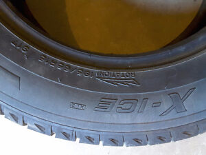 2-195/65r15 x ice michelin tires
