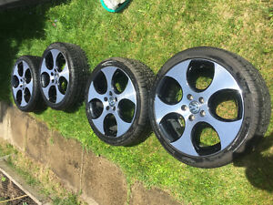 Volkswagen gti mk5 mags and tires