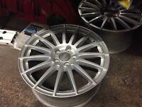 """Audi sline 18"""" alloy wheels x 4"""