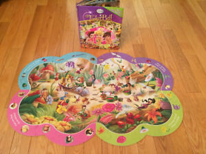 Diney Tinkerbell First Look and Find Book + 40 Piece Puzzle