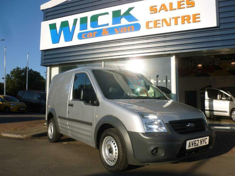 2012 Ford TRANSIT CONNECT T220 LR SWB 75ps Van *SILVER* Manual Small Van