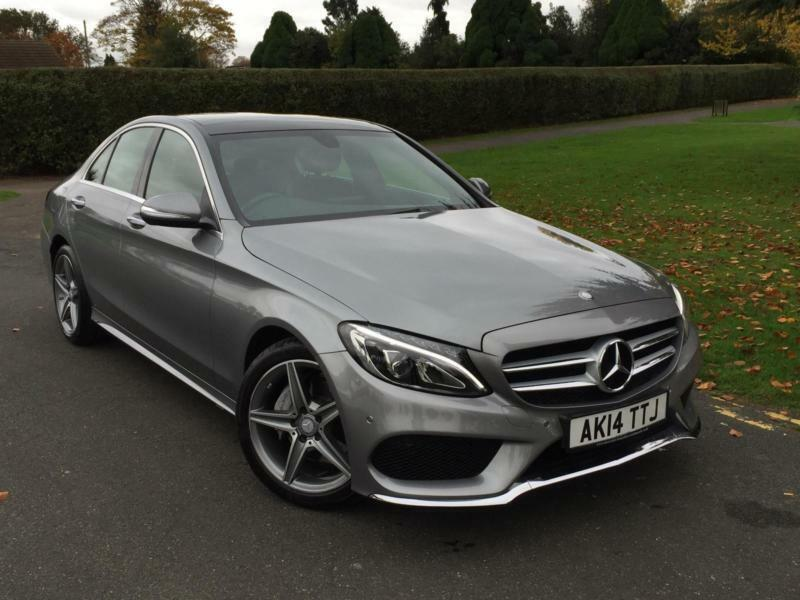 mercedes c class c220 cdi bluetec amg line premium pack 2014 14 in ilford london gumtree. Black Bedroom Furniture Sets. Home Design Ideas