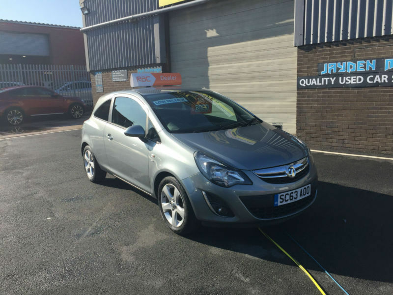 2013 13 VAUXHALL CORSA 1.2i SXI MANUAL 46,000 MILES WARRANTED
