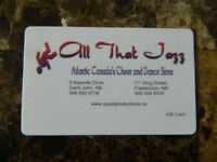 $50 gift card for All that Jazz for $35.