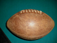 Old Leather football