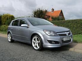 2009 Vauxhall Astra 1.9 CDTi 16V SRi 150 BHP TURBO DIESEL 5DR HATCHBACK ** FU...
