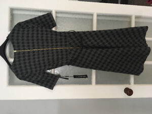 Karl Lagerfeld Houndstooth Dress