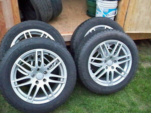 225/55/17 Goodyear Nordic Winter Tires