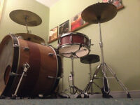 Affordable drum lessons for any skill level!