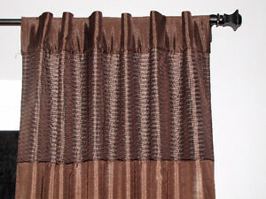 Two Back-Tab Curtain Panels