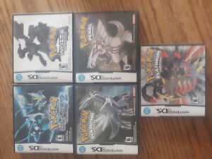 SELLING *Sealed* and Unsealed POKEMON GAMES. 3DS, DS.