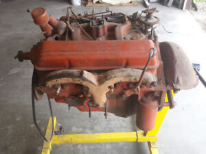 283 motor and powerglide transmission