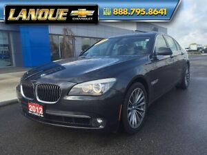 2012 BMW 7 Series 750i   WOW... LOW KMS!!  BEAUTIFUL CAR