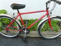 vélo de montagne norco roue 26 pouces 21vitesse cro moly 15 inc