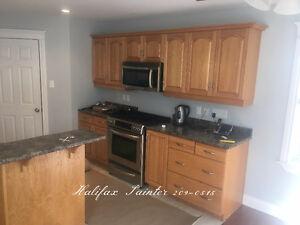 Kitchen Cabinet Refinishing Spray Painting ☆ 902-209-0515 ☆