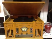 Juke box/phono/cd/radio