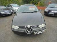 2003 03 ALFA ROMEO 156 2.0 JTS TURISMO 4D 164 BHP