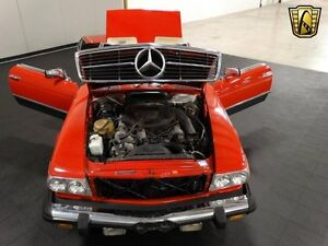 1972-1989's Mercedes SL ( 107 ) for parts or renovation