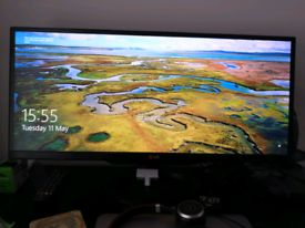 LG IPS ultra wide Monitor PC gaming and and HD TV