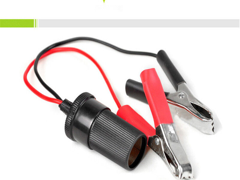 Plastic Car battery clip cables Alligator clips Emergency Charger Clamp X SM &