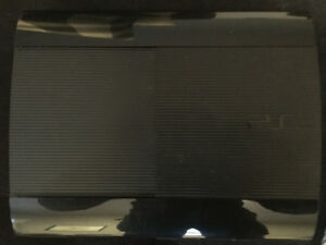 PS3 Slim- 1 terrabite with 8 games, all cords, and controller