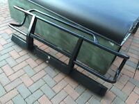Landrover Defender bumper with bull bars have wipac spots too which I'll throw in too