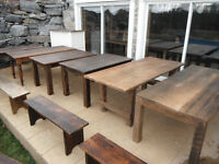 ROB'S HARVEST TABLES - 45 Tables in Stock !!!