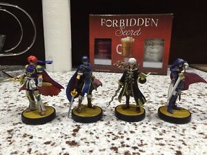 Marth, Lucina, Roy and Robin Amiibos for sale