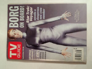 Star Trek and The X-Files Vintage TV Guide Magazines ( 19 )