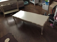 Shabby chic - French provincial coffee table