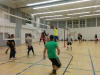 CO-ED INT/ADV VOLLEYBALL DROP-IN high ceiling Community Center