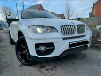 2011 WHITE BMW X6 3.0TD (306bhp) XDRIVE 40D 4X4 AUTOMATIC DIESEL PRISTINE CAR