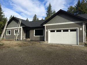 New Home on 2 Acres 7kms outside of Enderby