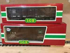 LGB G scale freight cars
