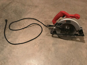 12amp black&decker circular saw