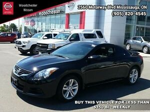 2013 Nissan Altima 2.5 S   - Sunroof - $141.01 B/W