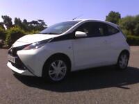 Toyota AYGO 1.0 VVT-i ( 68bhp ) 2014 x-play 27,000 miles