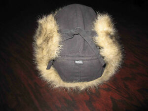 Fur Trimmed Trappers Hat London Ontario image 2
