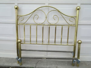 Reduced - Solid Brass Bed in Time for Christmas!