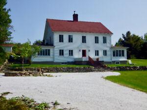 Maison ancestrale lac Libby