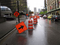 ARE YOU TRAINED TO GET WORK - TRAFFIC CONTROL - FLAGGING