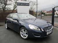 2013 Volvo V60 2.0D D4 ( 163bhp ) ( s/s ) SE Lux(ONE OWNER,CREAM LEATHER SEATS)