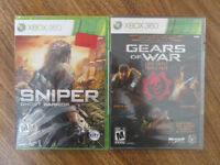 4 Brand New Xbox 360 Games In The Package