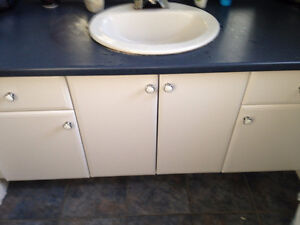 Cabinets, Light Fixtures, Mirror *PRICE NEGOTIABLE* Kitchener / Waterloo Kitchener Area image 1
